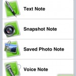 Evernote iPhoneアプリ