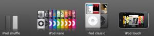 iPodファミリー