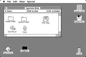 Macintosh System 1.0